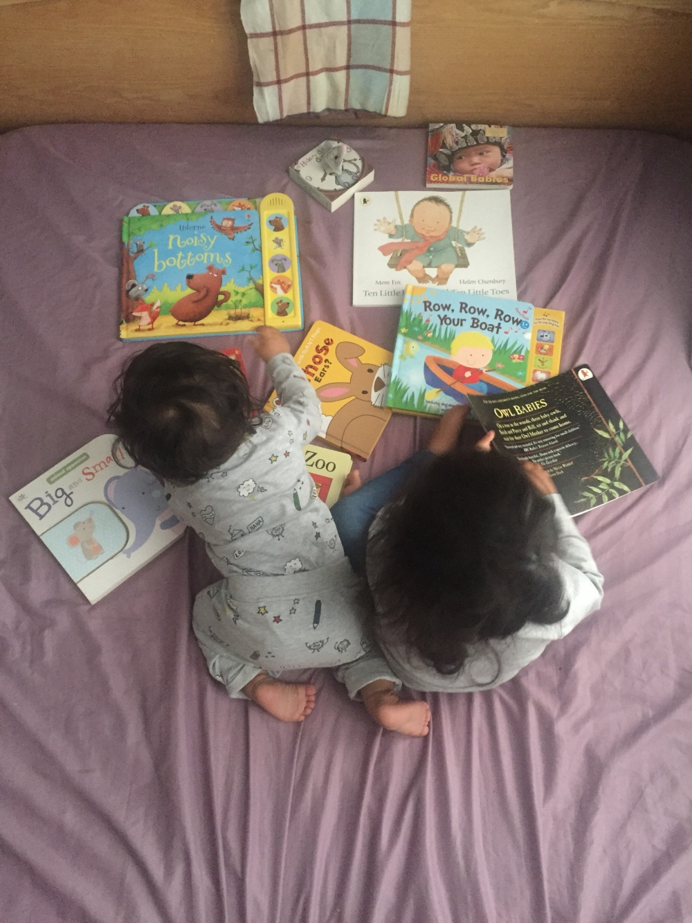 Reading, books, babies, books are for life